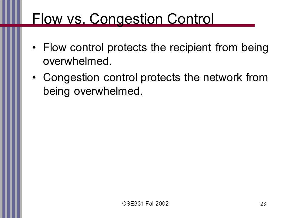 CSE331 Fall 200223 Flow vs.