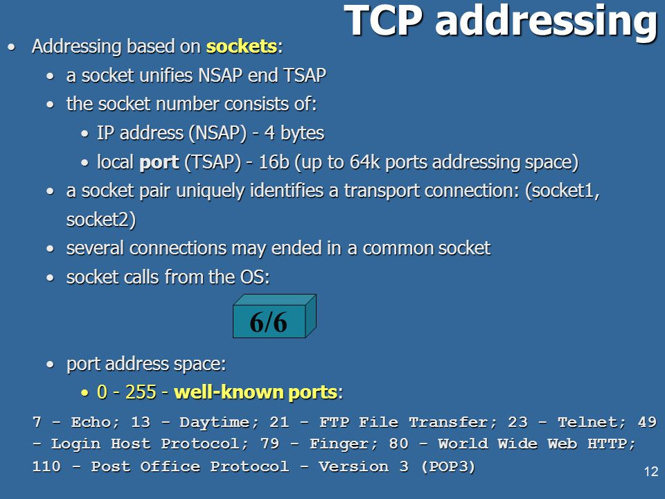 11 Transport Layer in Internet Connection-oriented and connectionless oriented protocols in InternetConnection-oriented and connectionless oriented pr