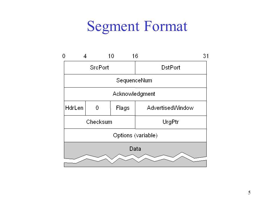 5 Segment Format
