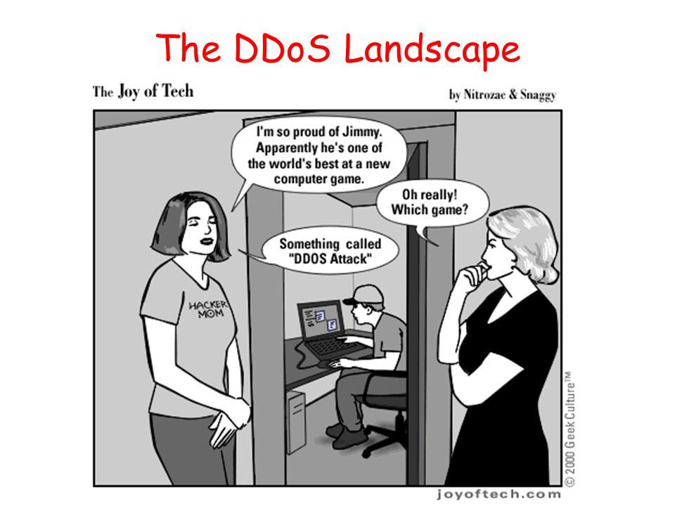 The DDoS Landscape