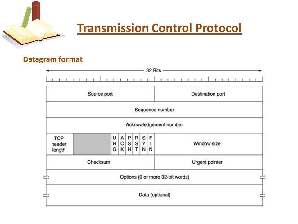 Transmission Control Protocol Datagram format