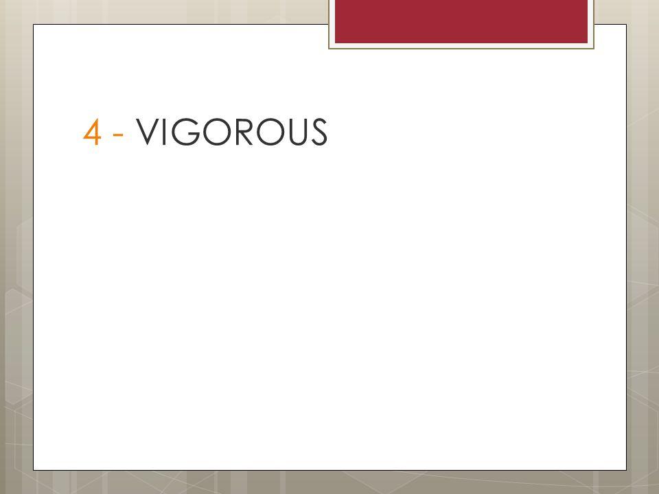 4 - VIGOROUS