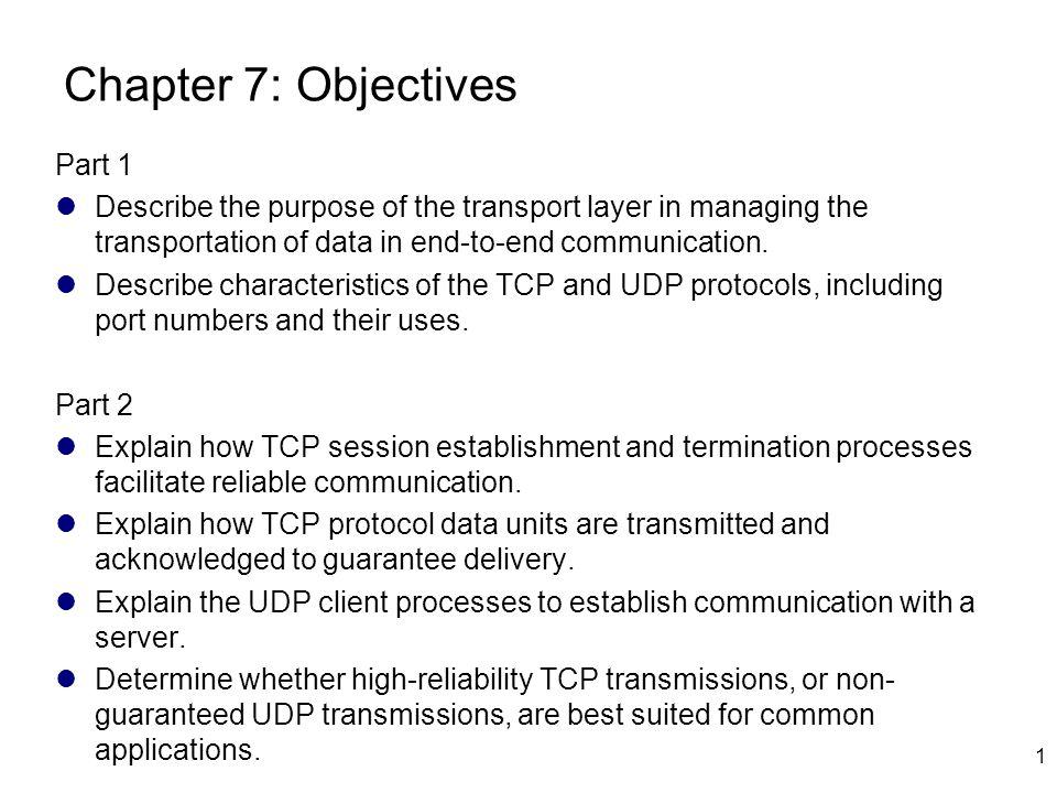 Termination Mechanisms 22