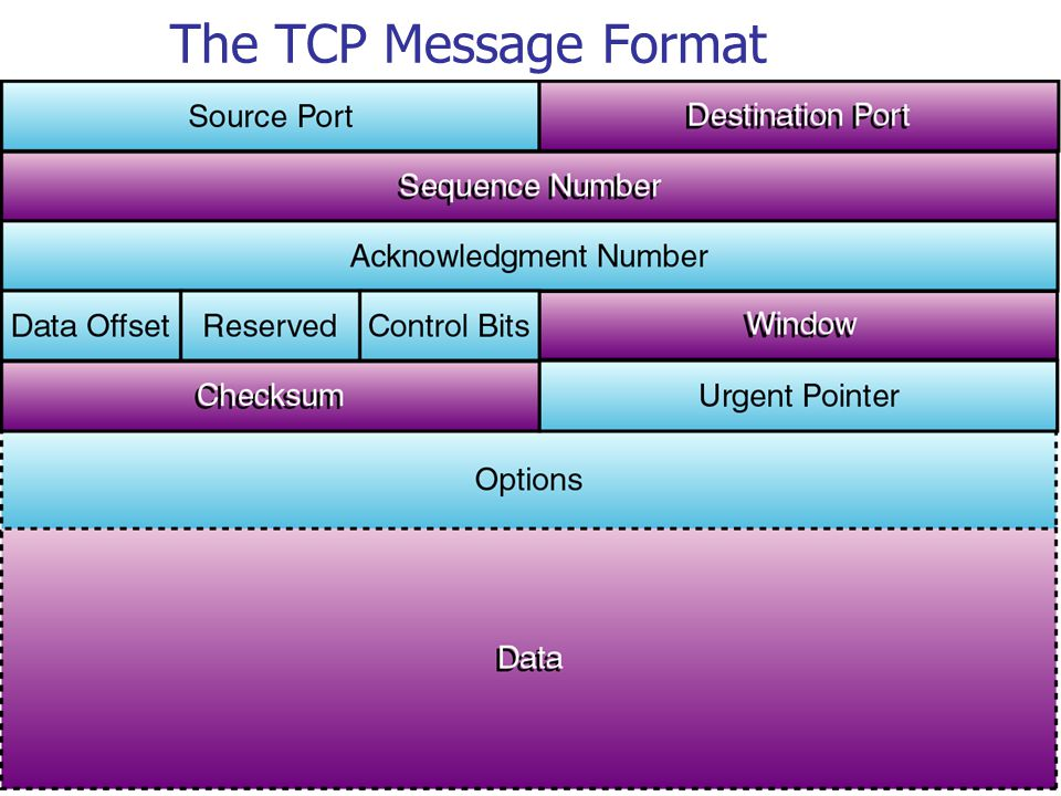 6 The TCP Message Format