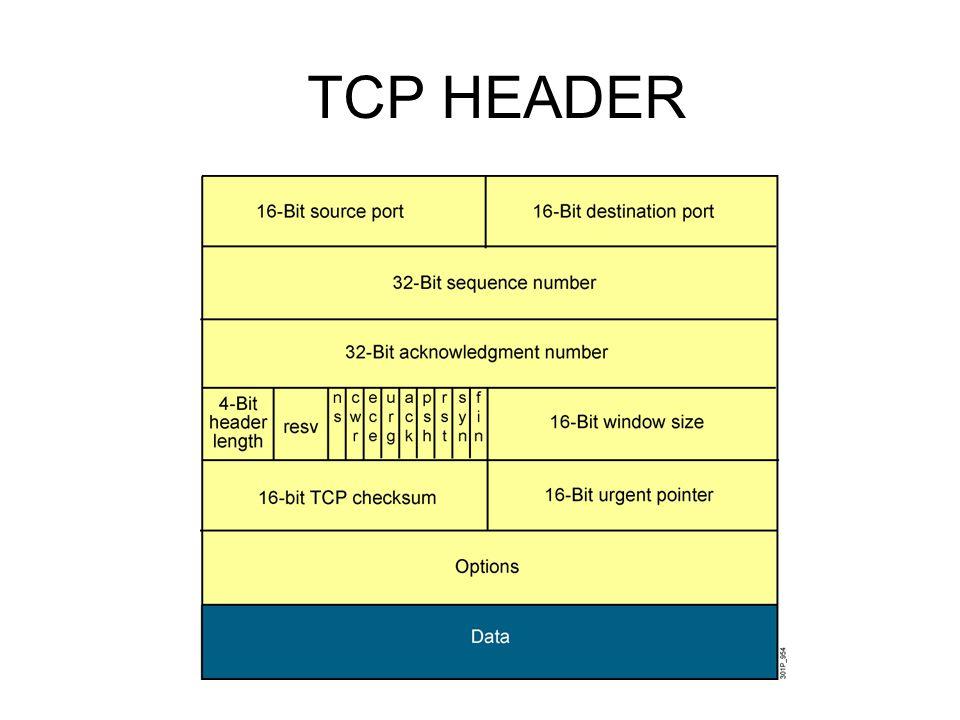 TCP SLIDING WINDOWING