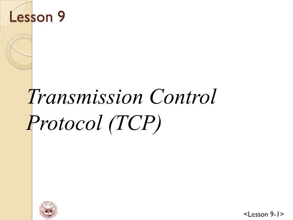 資 管 Lee Error Control TCP is a reliable transport layer protocol.