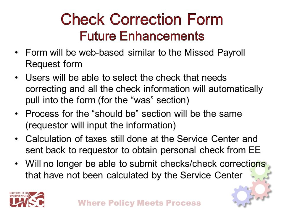 Where Policy Meets Process Payroll edit report – Cypress Payroll edit report query (Excel) – UW_PY_EDIT_BY_JOB_DEPT Other PS Queries?