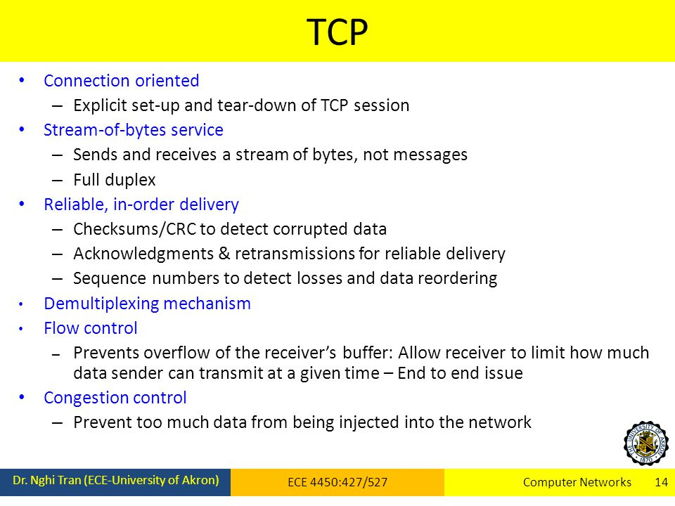 TCP Dr.