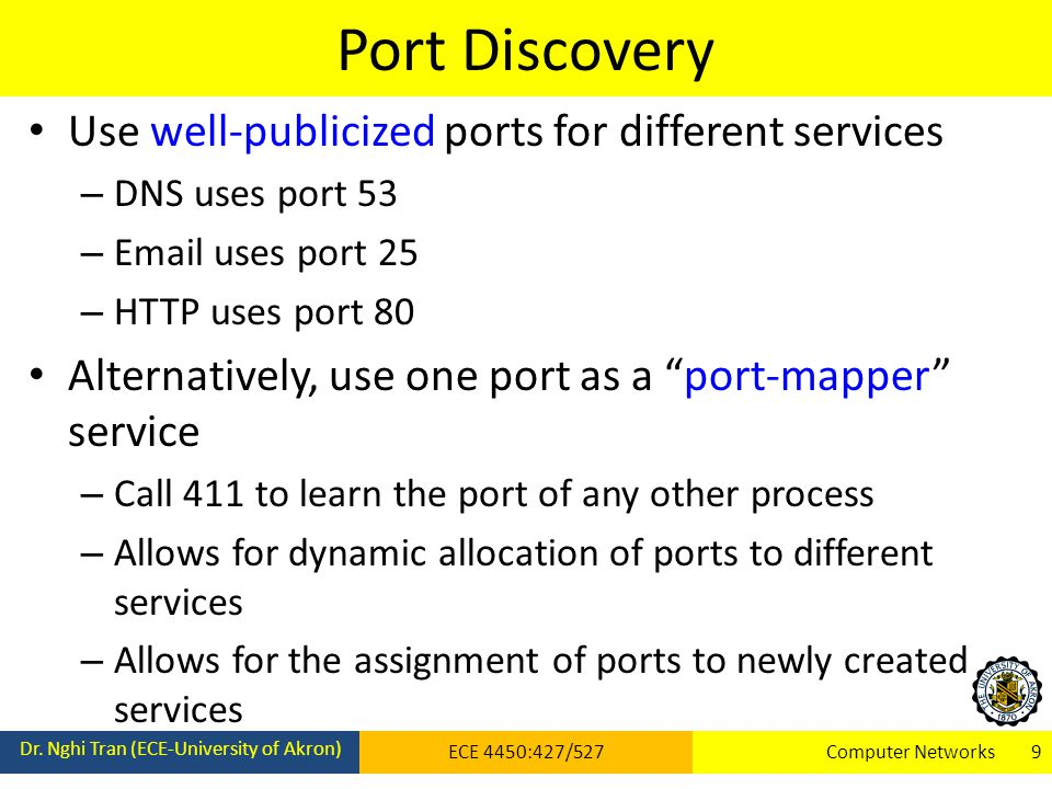 Port Discovery Dr.