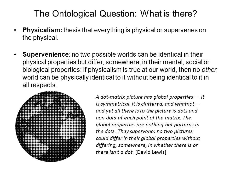 Descartes Essentialist Argument for Dualism 1.