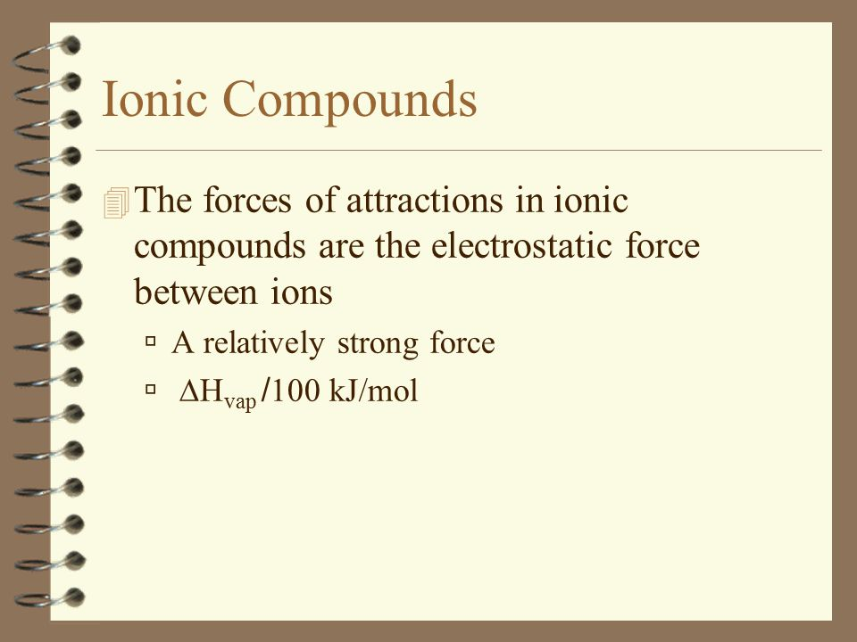 Molecular Compounds Polar Molecules