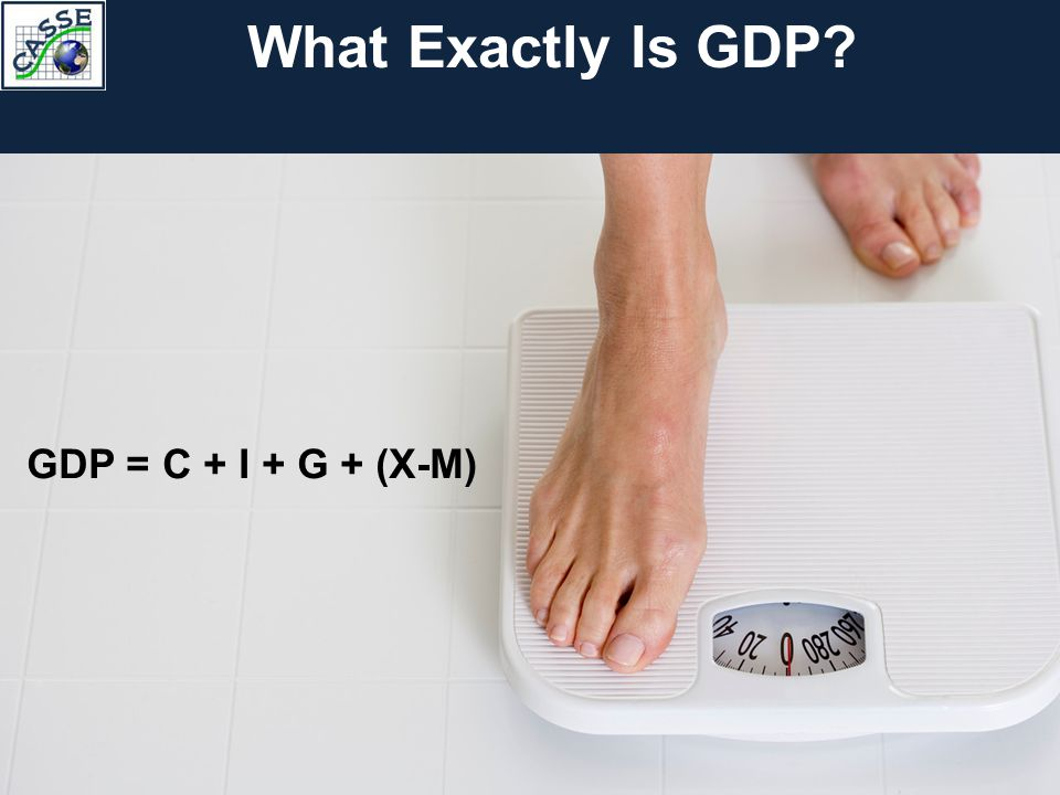 What Exactly Is GDP GDP = C + I + G + (X-M)