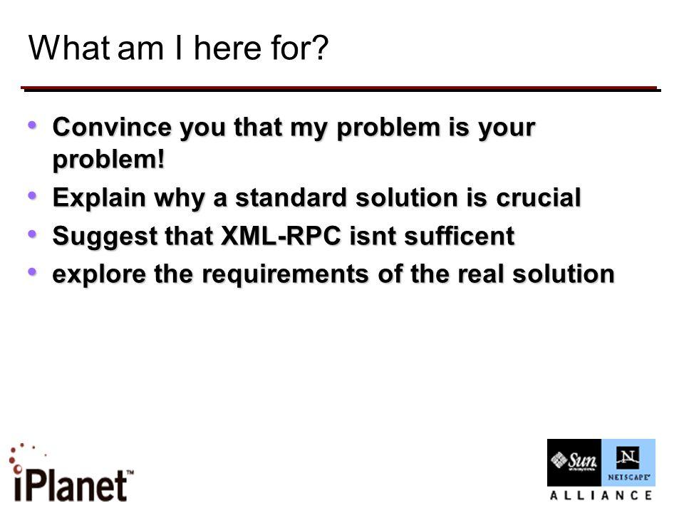 XML based Internet APM