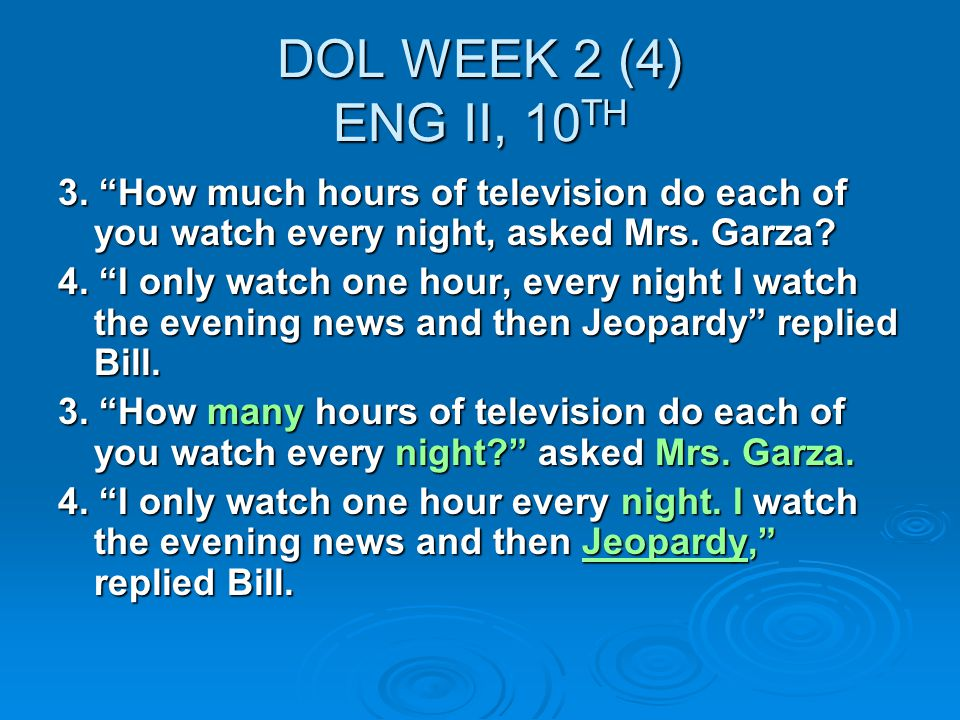DOL WEEK 2 (4) ENG II, 10 TH 3.