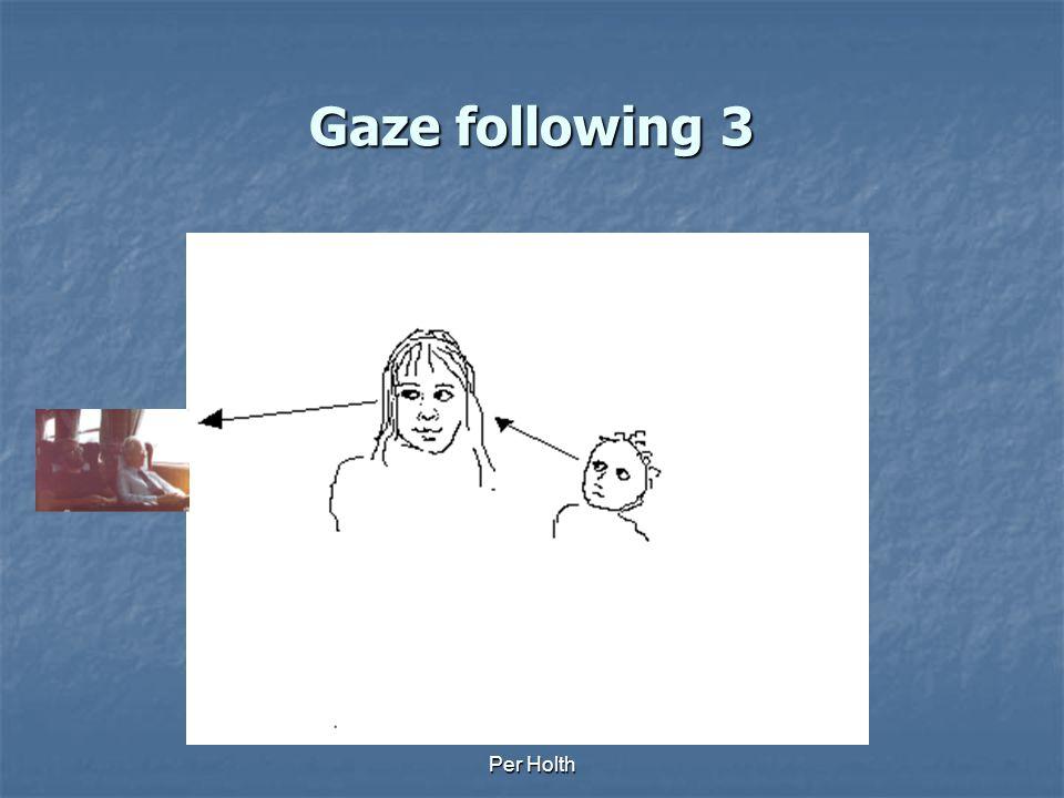 Per Holth Gaze following 2