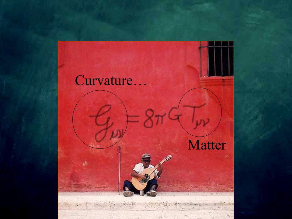 Curvature… Matter