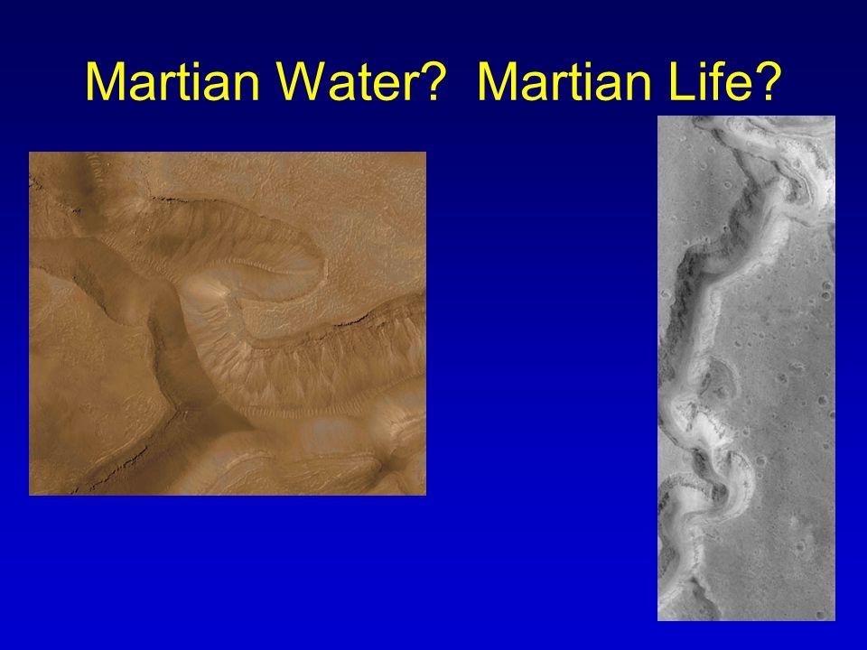 Martian Water? Martian Life?
