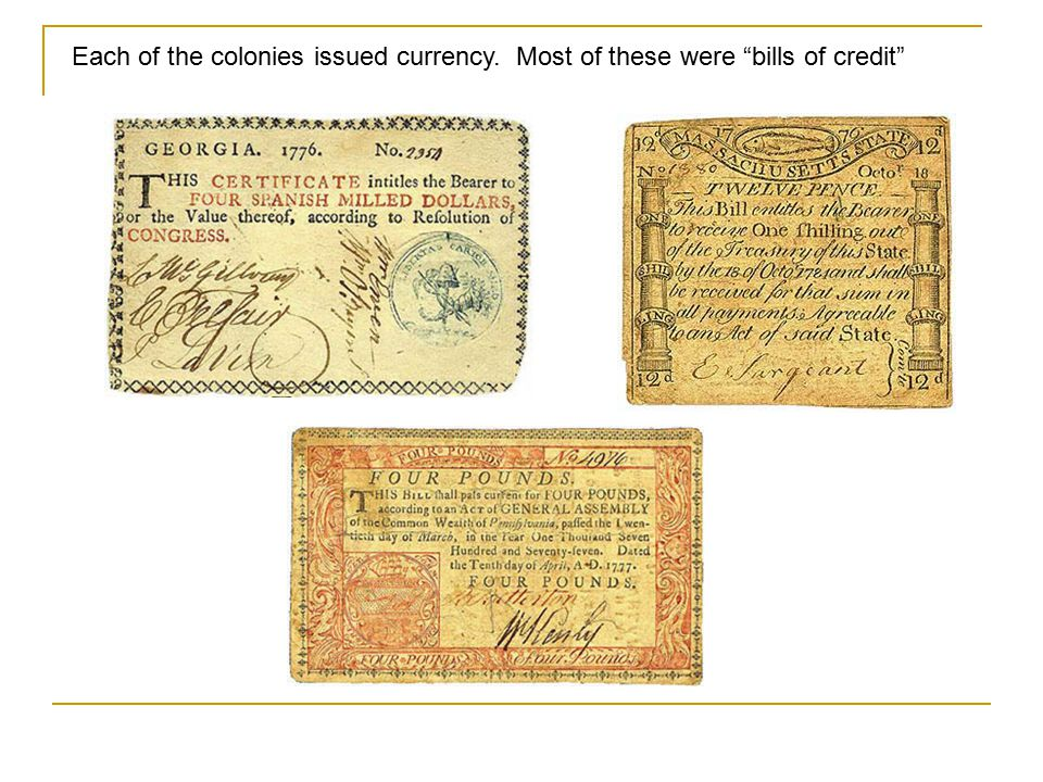 Paper money first makes an appearance in China around 900AD Due to a severe copper shortage, the Chinese begin issuing paper currency. Frequent reissu