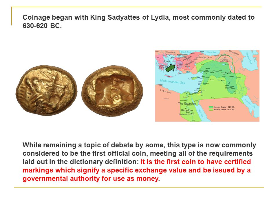 The earliest money was commodity money whose value comes from the commodity itself Tobacco Leaves Cocoa Beans Cowrie Shells Animal Skins Salt Precious