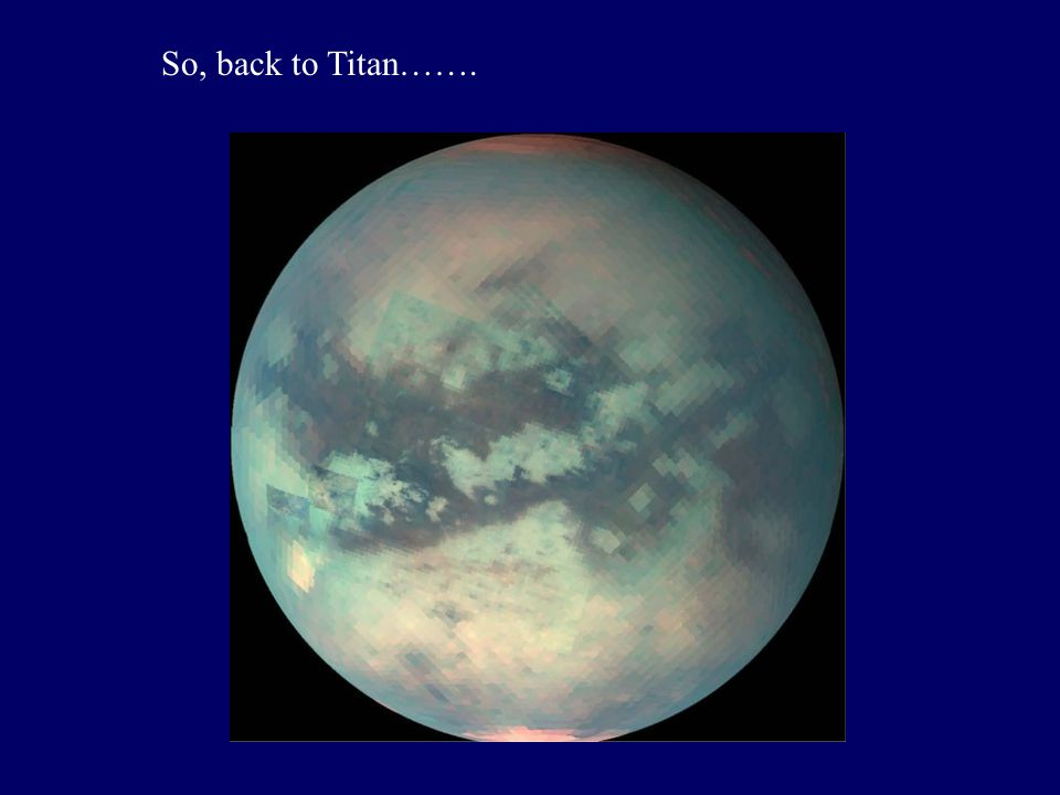 So, back to Titan…….