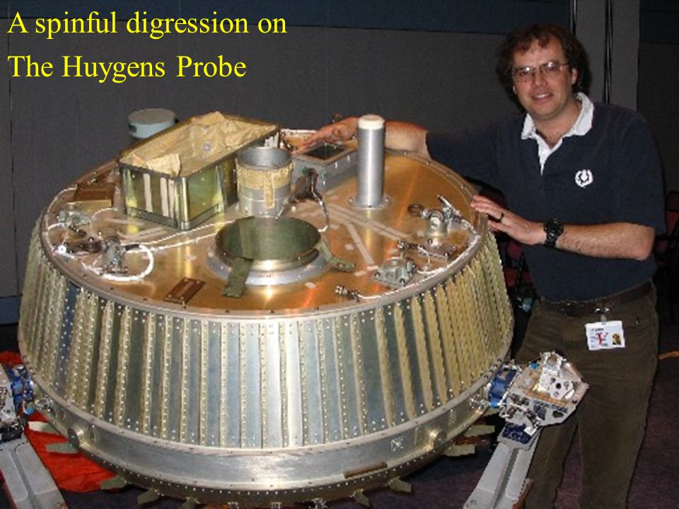 A spinful digression on The Huygens Probe