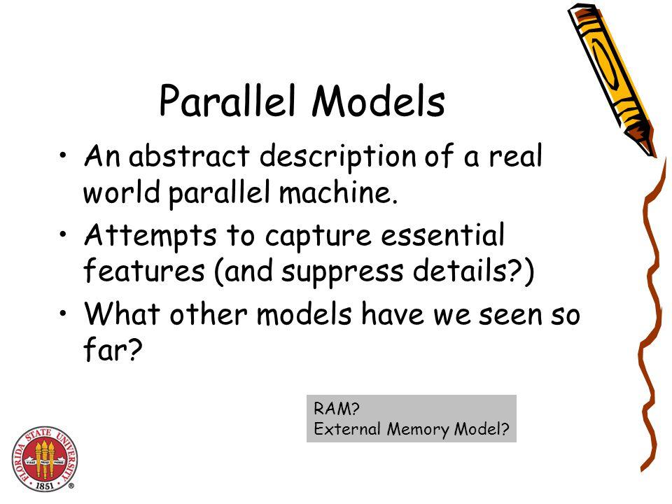 Problem 6: Planar Convex hulls MergeHull (P) HL = MergeHull( Left of median) HR = MergeHull( Right of median) Return JoinHulls(HL,HR) Time complexity in RAM.