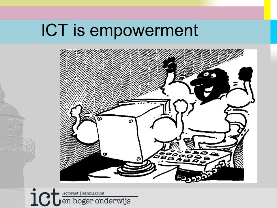 ICT is integrated communication