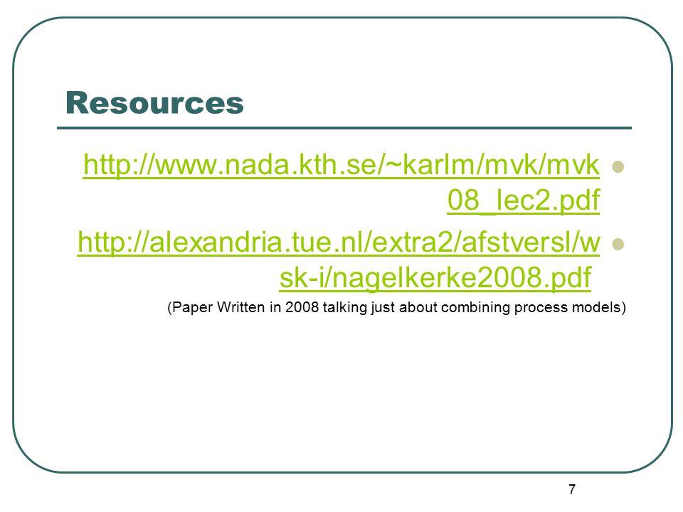7 Resources http://www.nada.kth.se/~karlm/mvk/mvk 08_lec2.pdf http://www.nada.kth.se/~karlm/mvk/mvk 08_lec2.pdf http://alexandria.tue.nl/extra2/afstve
