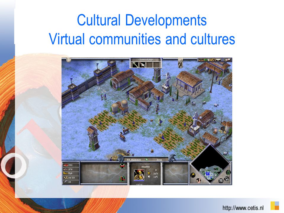 Cultural Developments Virtual communities and cultures