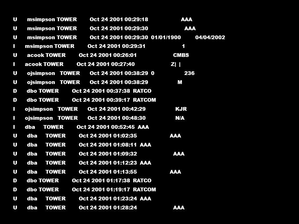 15 2 * 4 * /usr/local/flight/db_backup 0 2 * * * /usr/local/flight/maintenance.csh 15,45 * * * * /usr/local/flight/flightline_configuration_info.csh > /dev/null 2>&1