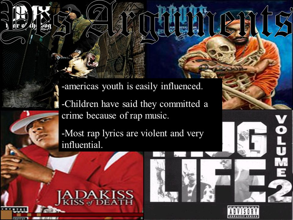 -americas youth is easily influenced.