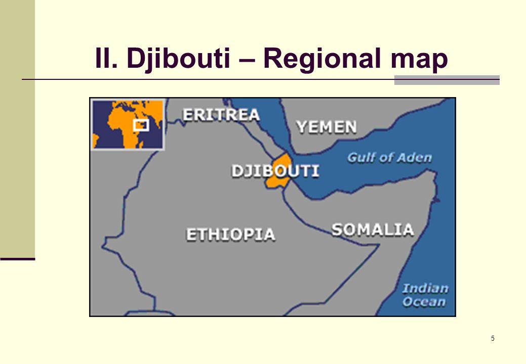 6 II. The map of Djibouti