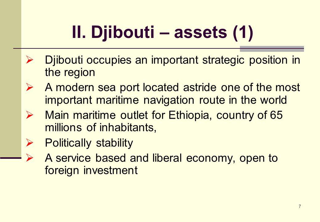 18 IV. Why the strategy of Djibouti as a regional hub (4) Sub-Marine cable SEA-ME-WE3