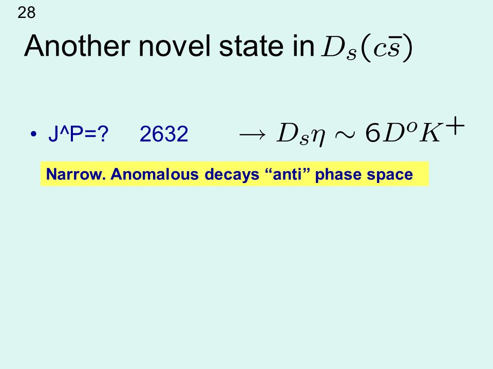 Another novel state in J^P= 2632 Narrow. Anomalous decays anti phase space 28