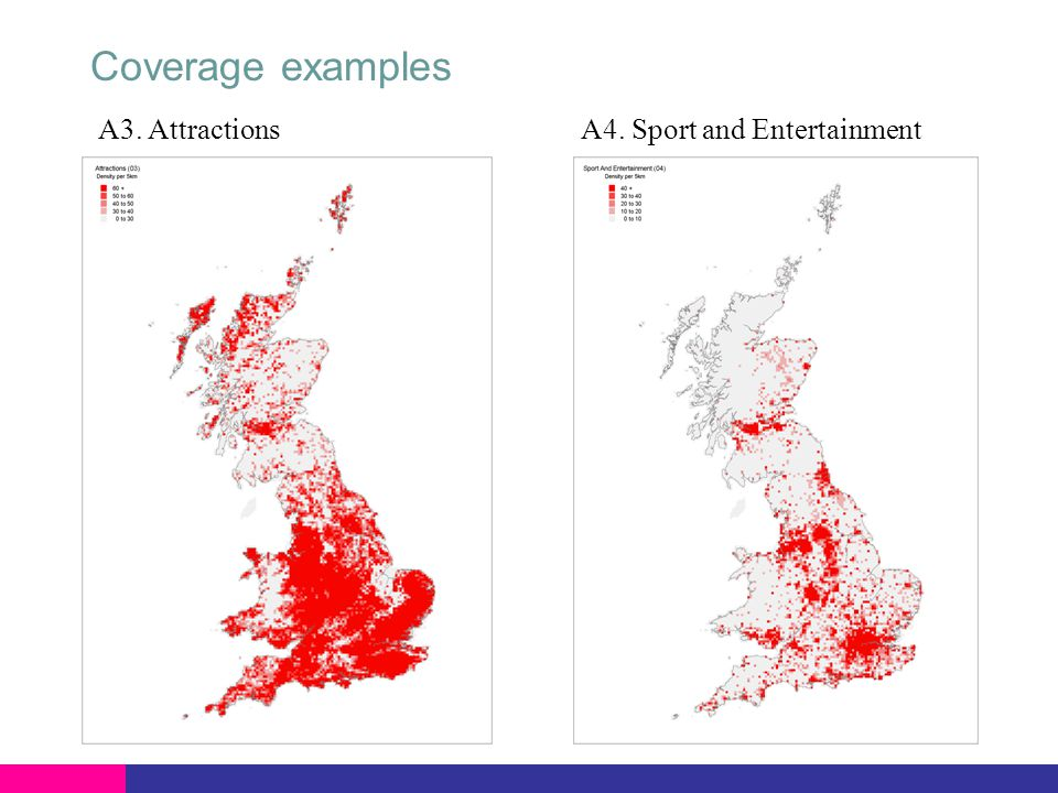 A3. AttractionsA4. Sport and Entertainment Coverage examples