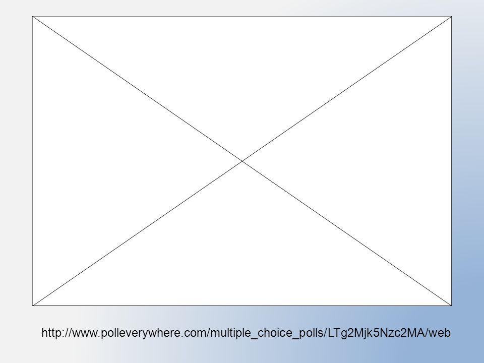 http://www.polleverywhere.com/multiple_ch oice_polls/LTg2Mjk5Nzc2MA/web
