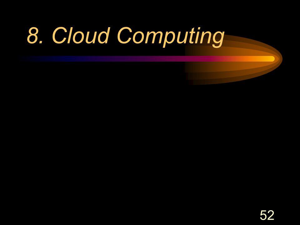 52 8. Cloud Computing