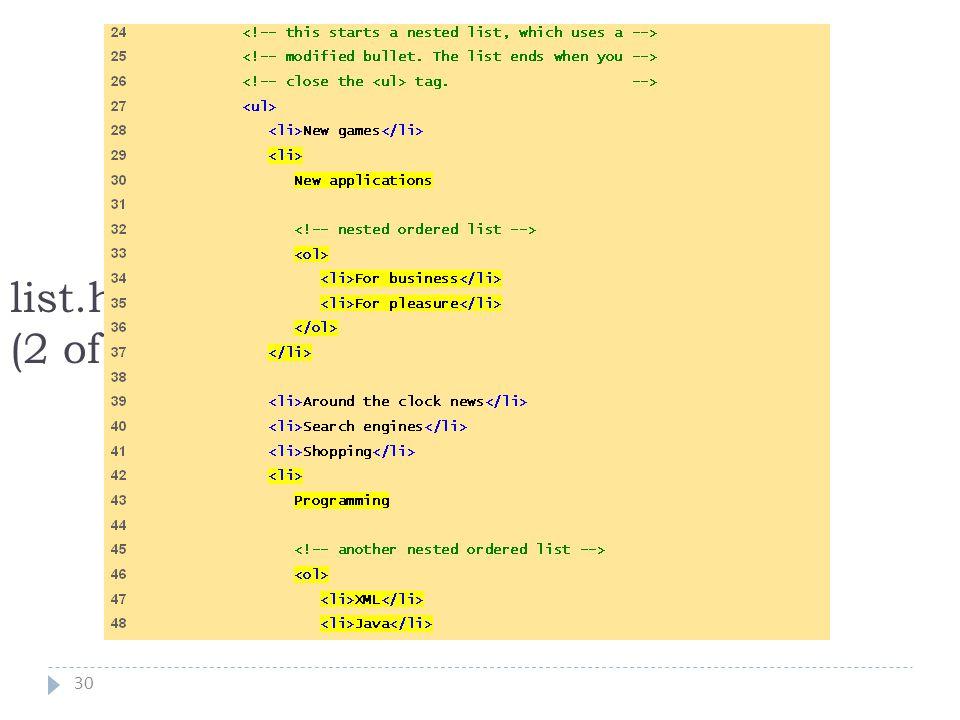 30 list.html (2 of 3)