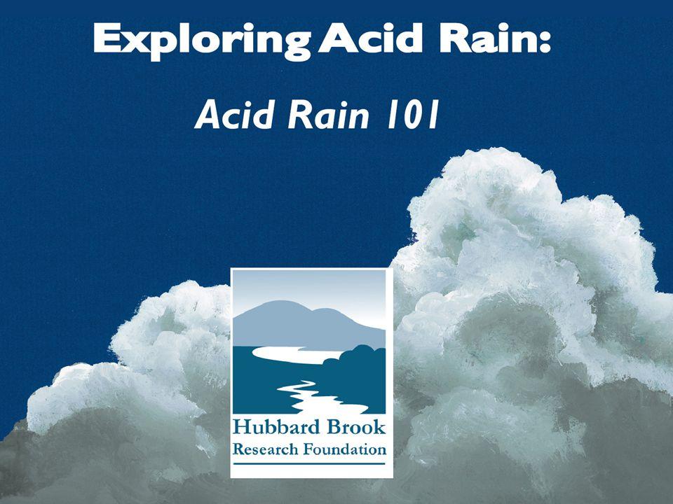 Acid Rain 101 Change in SO 2 emissions in the U.S.