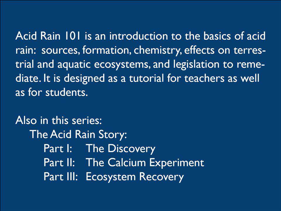 How does acid rain affect soils.2.
