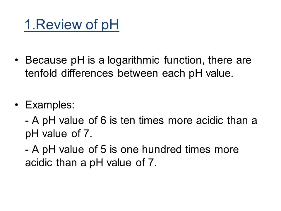 From Acid Rain Revisited, page 5 In 1997, the pH of wet deposition at HBEF was 4.2; today it is 4.5.