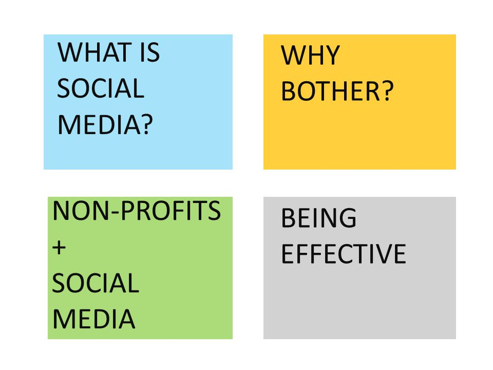 WHAT IS SOCIAL MEDIA WHY BOTHER NON-PROFITS + SOCIAL MEDIA BEING EFFECTIVE