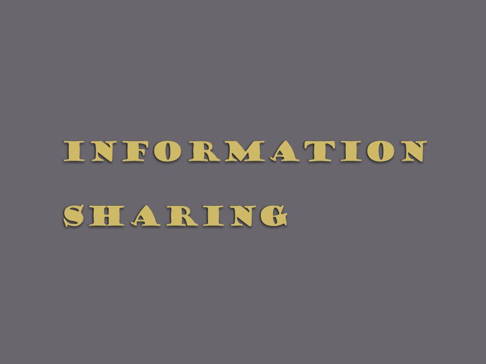 InformationSharingInformationSharing