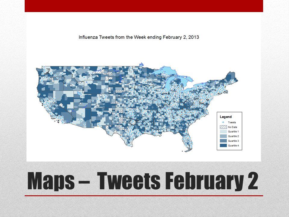 Maps – Tweets February 2