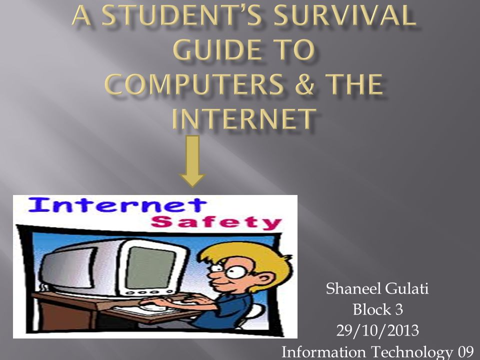 Shaneel Gulati Block 3 29/10/2013 Information Technology 09