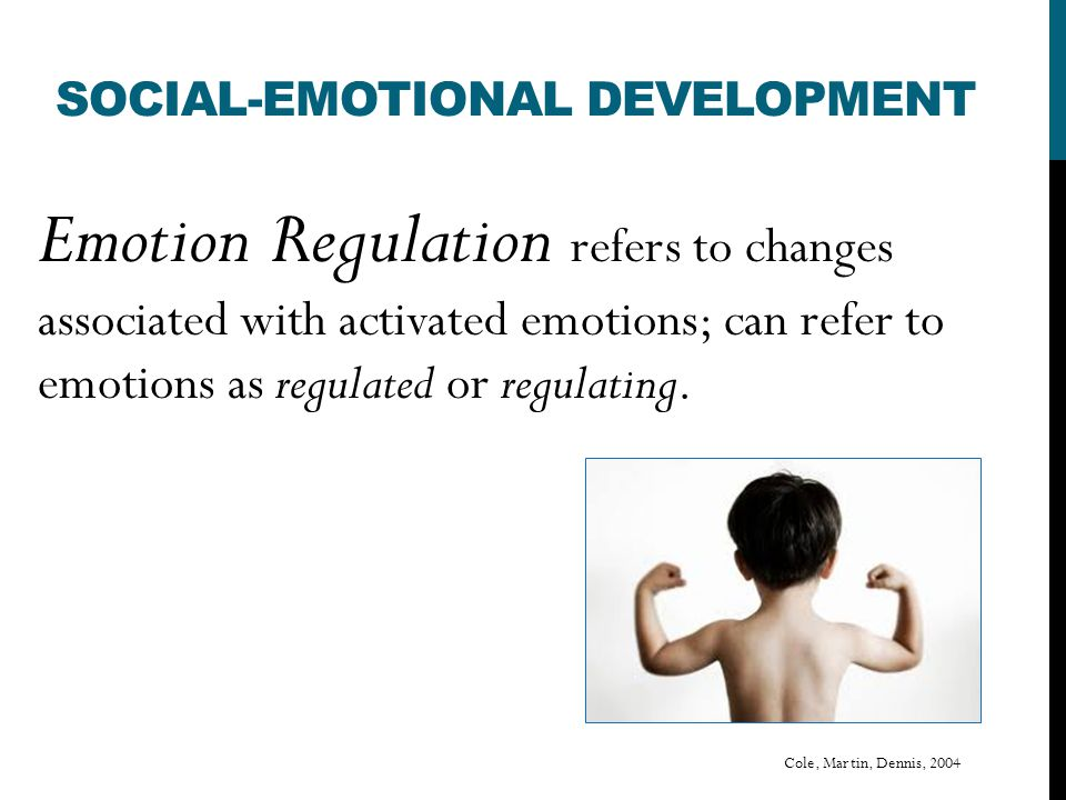 IMPLICATIONS FOR EARLY CHILDHOOD PRACTITIONERS Poor emotion regulation is well associated with poverty and concomitant stressors, suggesting that children from low- income families are at particular risk and, furthermore, that emotion regulation and associated parenting practices may be key mediators of demographic risk and poor outcomes 34% of children in New Jersey live in low-income families (200% of the poverty level).
