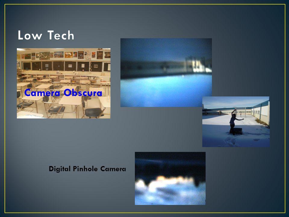 Camera Obscura Digital Pinhole Camera