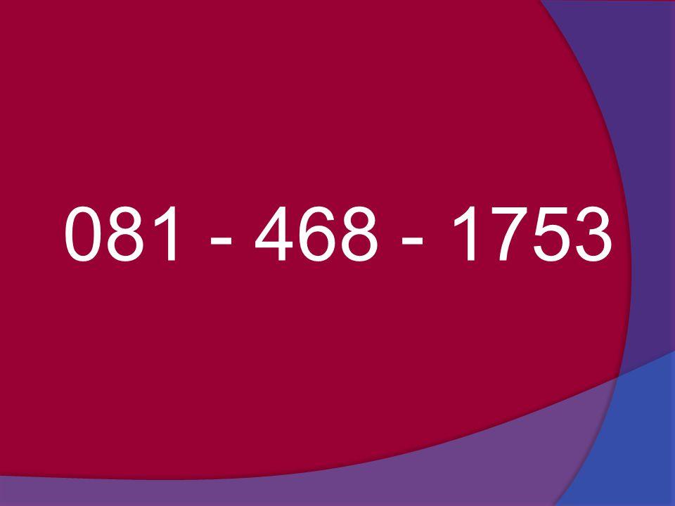 081 - 468 - 1753