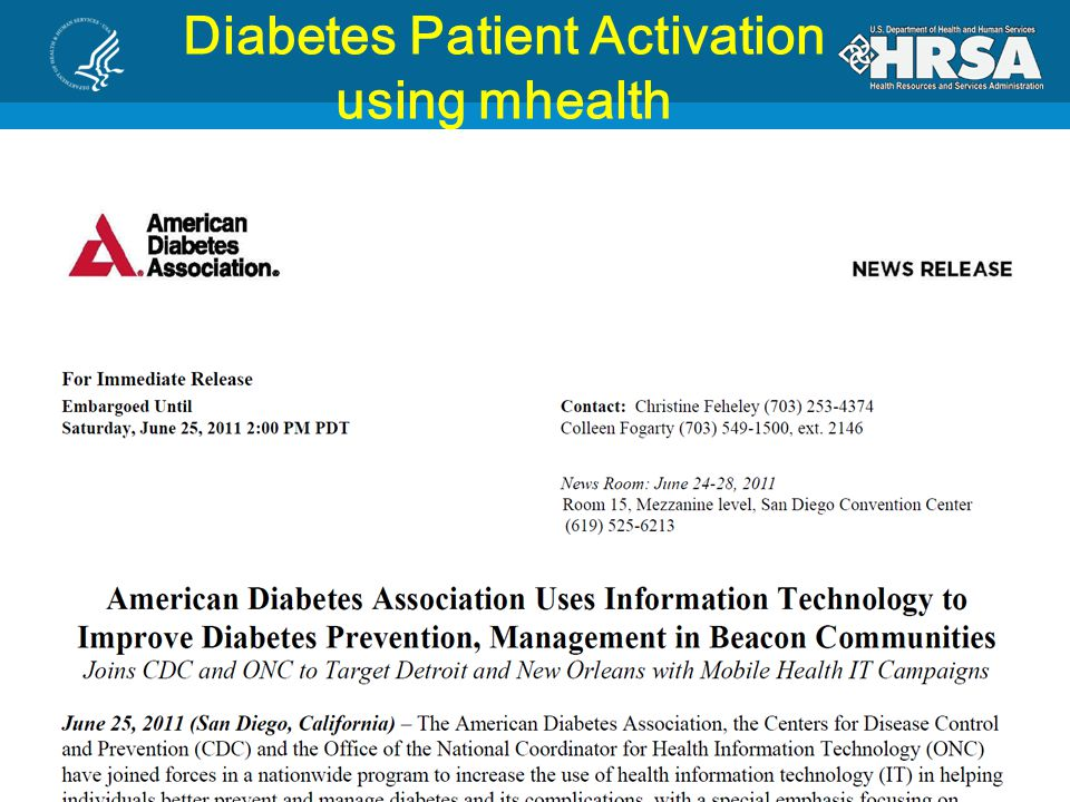Diabetes Patient Activation using mhealth