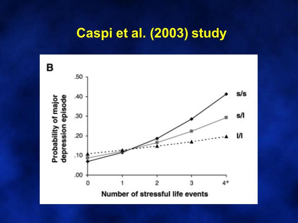 Caspi et al. (2003) study